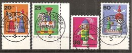 BRD 1971 // Mi. 705/708 O - BRD