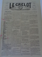 Le Grelot.14e Année.n°667.directeur-gérant,J.MADRE.20 Janvier 1884.prédictions Pour L'année 1884.TTB - 1850 - 1899