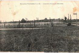CPA N°4017 - CHAMBRY VARREDDES - CIMETIERE FRANCAIS 1914-1919 - MILITARIA 14-18 - Andere Gemeenten