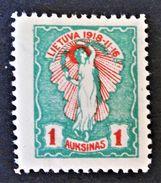2 EME ANNIVERSAIRE DE L'INDEPENDANCE 1920 - NEUF * - YT 64 - Litauen
