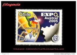 AMERICA. CHILE MINT. 2005 EXPOSICION FILATÉLICA AUSTRAL 2005 - Chili