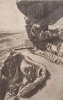 Mount Kazbek In Caucasus Mountains, Old Georgia Military Road Imperial Russia, C1900s/10s Vintage Postcard - Georgia