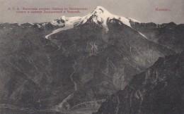 Eastern Side Of Mount Kazbek Georgia, Imperial Russia Issued C1900s/10s Vintage Postcard - Georgia