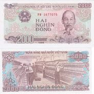 Vietnam 2000 Dong 1988 UNC - Vietnam