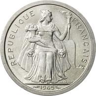 French Polynesia, Franc, 1965, Paris, SUP+, Aluminium, KM:2 - Polynésie Française