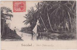 Antilles - Trinidad San Fernando,1 Penny ,1914, Ed Mur Marshall Et Co Port Of Spain ,n29 Hart´s Cut Bwi,amerique,voilier - Trinidad