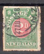 NOUVELLE ZELANDE  Britannique  -  TAXE N° 15 - O - - 1855-1907 Crown Colony