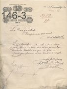 DOKUMENT: Brüder Schlimp/Wien Xx/ 1-11-1902 - Austria