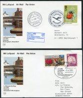 1986 GB Germany Lufthansa First Flights Cards (2) Birmingham / Dusseldorf - Covers & Documents