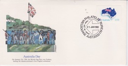 Australia-1981 22c Australia Day Fleetwood First Day Cover - Primo Giorno D'emissione (FDC)