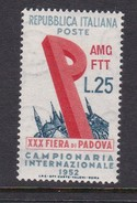 Trieste Allied Military Government S 151 1952 30th Padua Fair, MNH - 7. Trieste