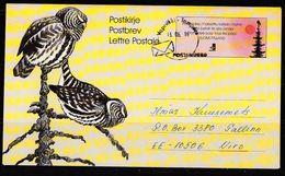Finnland 2016. Brief Finnland- Estland. - Cartas