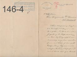 DOKUMENT: Paul Dumont/Wien/ 11-4-1902 - Austria