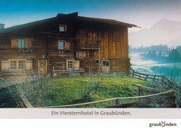 1 AK Schweiz * Ein Viersternhotel In Graubünden - So Wird Diese Karte Beschrieben ??? - GR Grisons