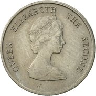 Etats Des Caraibes Orientales, Elizabeth II, 10 Cents, 1981, TTB, Copper-nickel - Caribe Oriental (Estados Del)