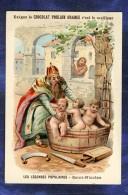 Chromo Poulain Orange Légendes Populaires N°5 Saint-Nicolas Vintage Trade Card - Poulain