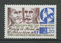 TAAF 1989 N° 147 ** Neuf MNH Superbe Cote 1.40 € Henri Et René Bossière Pionniers îles Kerguelen - Terres Australes Et Antarctiques Françaises (TAAF)