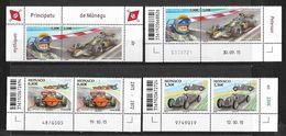 Monaco 2016 - Yv N° 3023 à 3026 ** - Peterson - March 711 - Auto Union Type C - Monaco