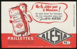 Buvard - SAVON EN PAILLETTES - ALESIA - Blotters