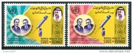 1971 Kuwait Banting & Best 50°della Scoperta Dell´Insulina Sanità Health Santé Set MNH** B217 - Kuwait