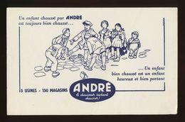 Buvard - ANDRE - Chausseur Sachant Chausser - Blotters