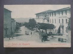 Cartolina Animata Reggello Firenze Non Viaggiata Primo Novecento - Firenze (Florence)