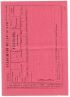 RB 1166 -  Italy 1968 & 1976 Unused Telegrafi Dello Stato Telegramma Forms - 6. 1946-.. República