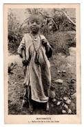ETHIOPIE . ABYSSINIE . PETITE FILLE DE LA TRIBU DES IROBS - Réf. N°3698 - - Ethiopie