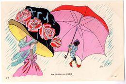 37  La Mode En 1909 (C. M.) - France