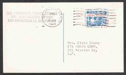 United States - Scott #UX51 Used - Postal Stationery