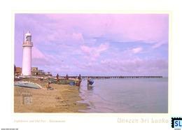 Sri Lanka Postcards, Unseen, Talaimannar Lighthouse, Postcard - Sri Lanka (Ceylon)