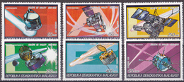 Kc_ Madagaskar - Mi.Nr. 1058 - 1063 A - Postfrisch MNH - Halleyscher Komet Raumsonden - Astrologie