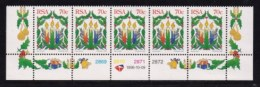 RSA, 1996, MNH Stamps In Control Blocks, MI 1024, Christmas, X742 - South Africa (1961-...)