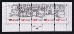 RSA, 1997, MNH Stamps In Control Blocks, MI 1047-1051, Freedom Day, X717 - Zuid-Afrika (1961-...)