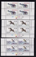 RSA, 1997, MNH Stamps In Control Blocks, MI 1083-1085, Endangered Animals Definitive's, X745A - Zuid-Afrika (1961-...)