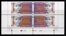 RSA, 1997, MNH Stamps In Control Blocks, MI 1086-1089, National Song, X746A - Ongebruikt