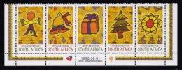 RSA, 1998, MNH Stamps In Control Blocks, MI 1179, Christmas, X718A - Zuid-Afrika (1961-...)