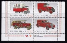 RSA, 1999, MNH Stamps In Control Blocks, MI 1184-1187, U.P.U., X741 - Zuid-Afrika (1961-...)