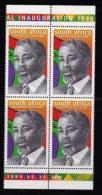 RSA, 1999, MNH Stamps In Control Blocks, MI 1208, Thabo Mbeki, X748 - Zuid-Afrika (1961-...)