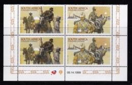RSA, 1999, MNH Stamps In Control Blocks, MI 1242-1243, Boer War, X750 - South Africa (1961-...)
