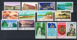 Santa Lucia 1970 -- Yvert 259/72 -- **MNH / VF - St.Lucia (1979-...)