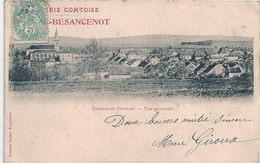 Cpa 70 Noidans Le Ferroux Broderie Comtoise Bissuel-Besancenot - France