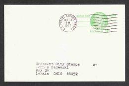 United States - Scott #UX72 Used - Postal Stationery