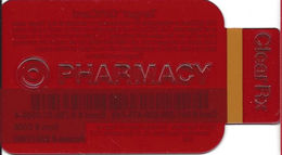 Target Rx Pharmacy See-Thru Bottle Shaped Gift Card - Gift Cards