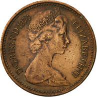 Grande-Bretagne, Elizabeth II, 1/2 New Penny, 1974, TB, Bronze, KM:914 - 1971-… : Monnaies Décimales