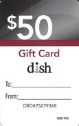 $50 Disk Cardboard Gift Card - Gift Cards