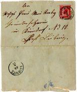 Carte Lettre De Wolfsberg (23.06.1904) Pour Leibnitz - Lettres & Documents
