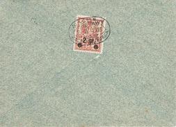WARSZAWA - VARSOVIE - Poste Locale Lettre 2avril 1916 Michel N° 9 - ....-1919 Provisional Government