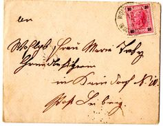 Lettre Avec Correspondance De Wolfsberg (10.07.1890) Pour Leibnitz - Lettres & Documents