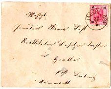 Lettre De Jagerberg (22.07.1890) Pour Leibnitz - Lettres & Documents